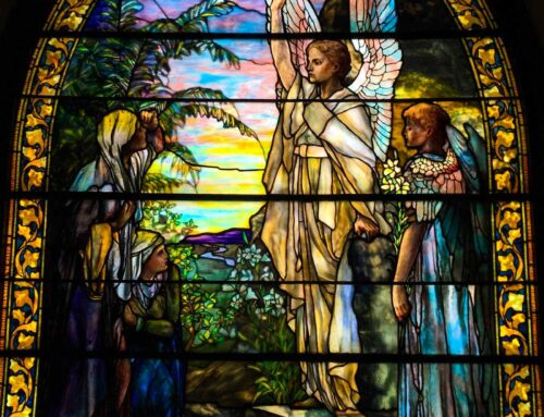 Full Re-lead/Restoration & New Protective Covering: Grace Memorial Episcopal Church (Tiffany Window) – Wabasha, MN